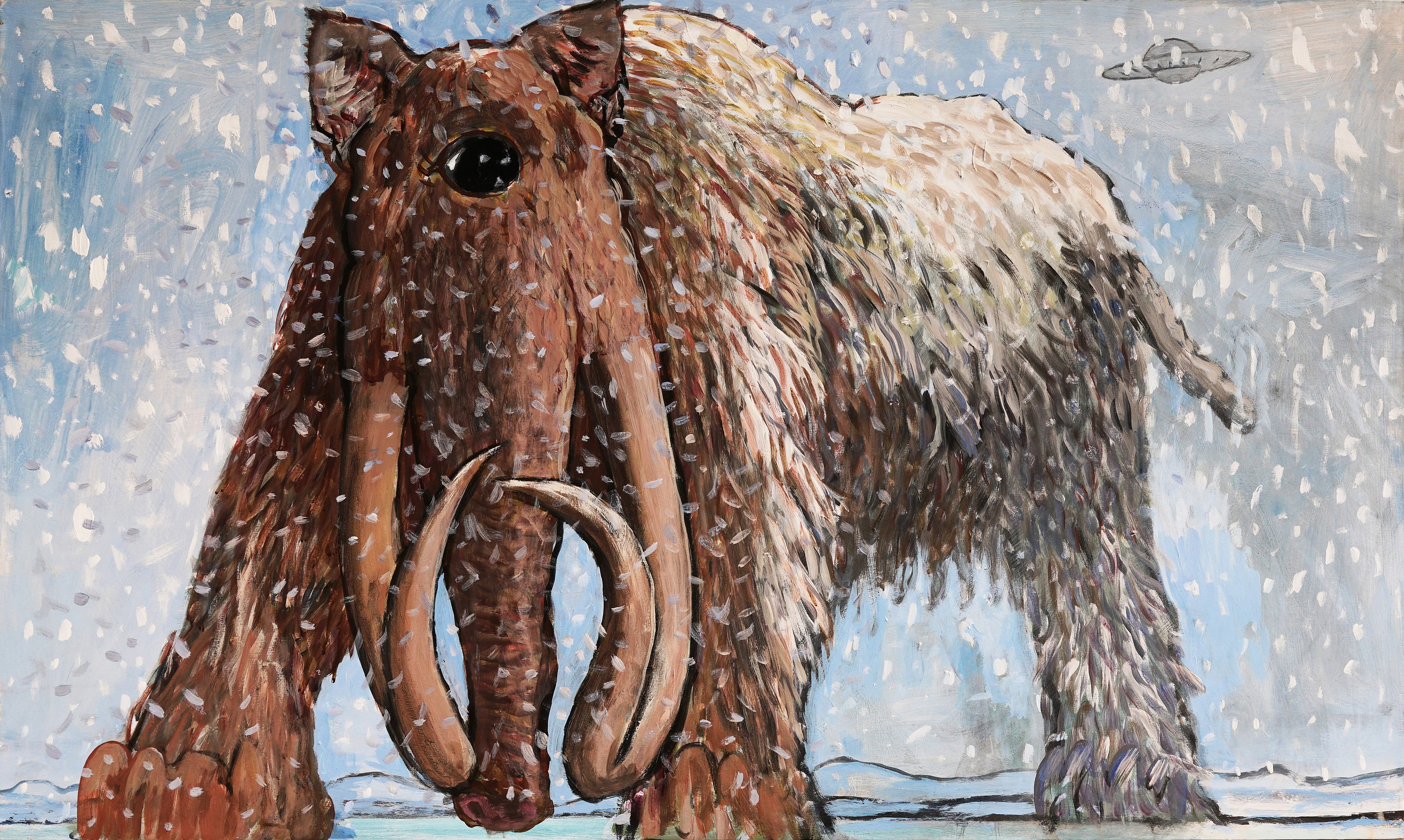 CYCLOPIAN CAT MAMMOTH 79 x 132