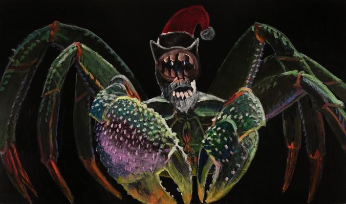 Santa Claws 120 x203cm