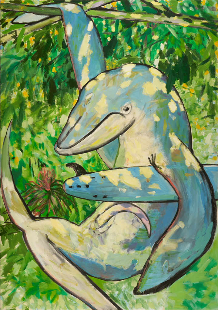 When Whales Took To the Trees 199.5x140cm