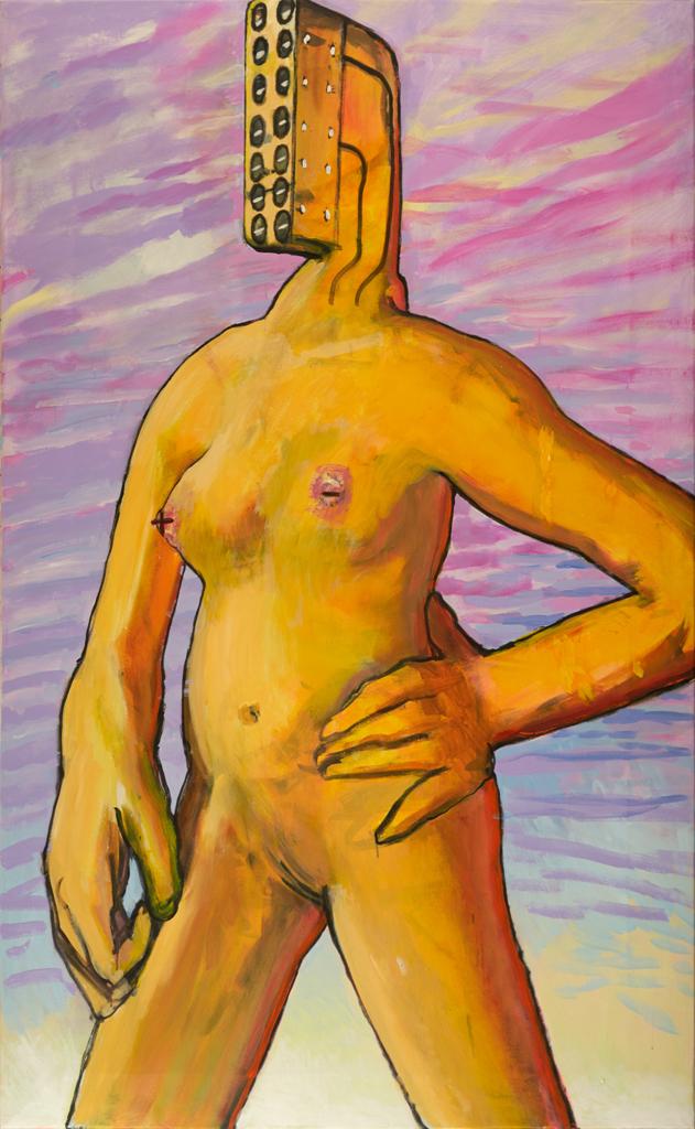 Woman 219x135cm